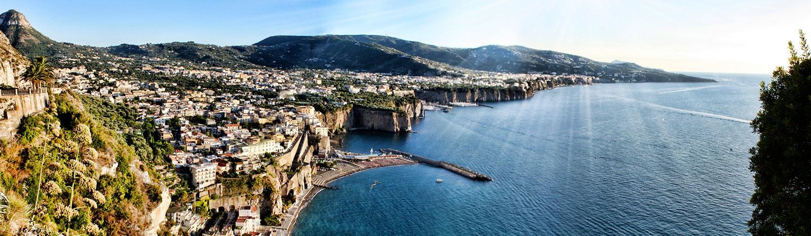 Zoom Car Rental >> The Town of Meta di Sorrento in Sorrento Coast - Holiday in Sorrento Peninsula