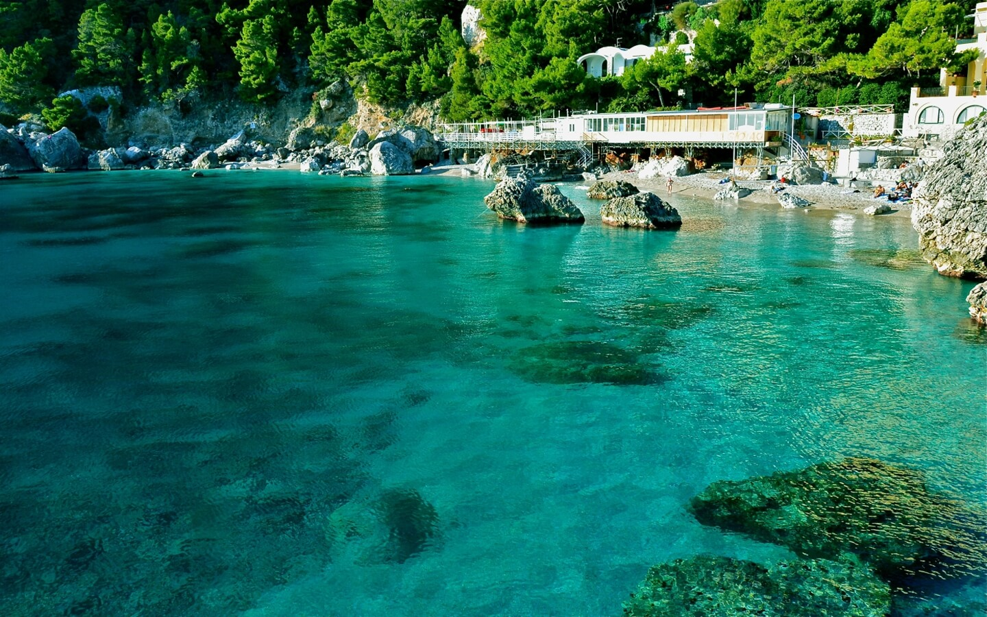 Beach guide for Capri - Andare al mare in Capri Island