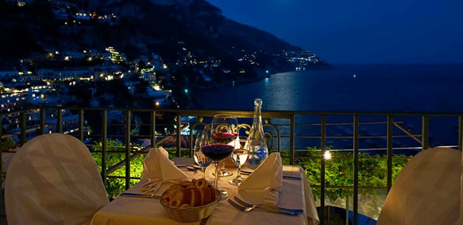 Ristorante Caffè Positano, Positano Italy - Restaurant Amalfi Coast