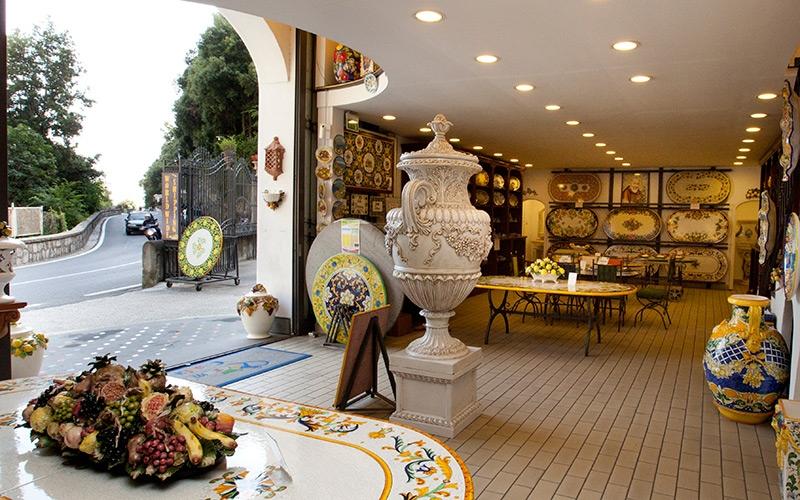 Zoom Car Rental >> Ceramiche Casola, Positano Italy - Shopping Amalfi Coast