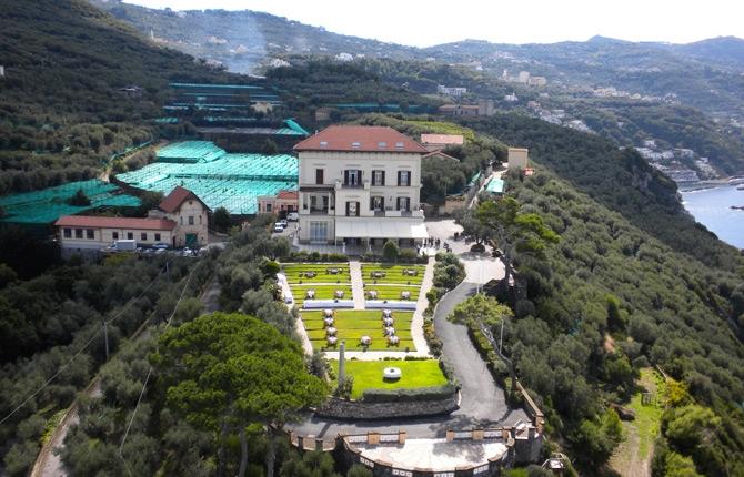 Villa angelina massa lubrense italy 4 star hotel sorrento coast - Dive residence massa lubrense ...