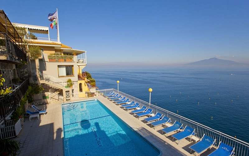 Hotel settimo cielo sorrento italy 3 star hotel - Hotel in sorrento italy with swimming pool ...