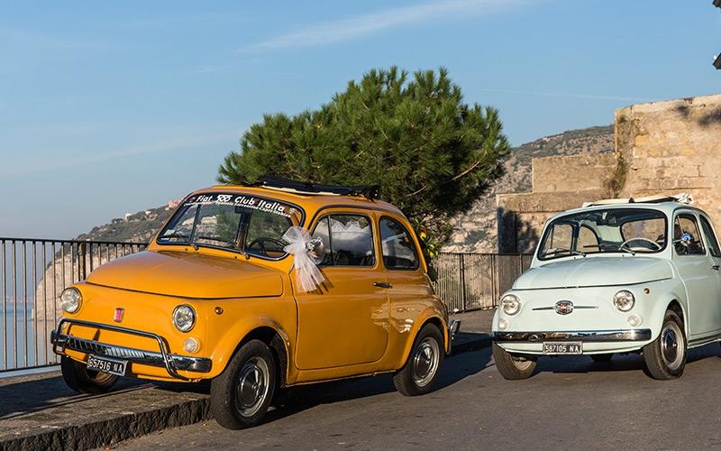 Classic Car Rental Amalfi Coast